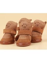 Ботиночки 'Угги' коричневые
