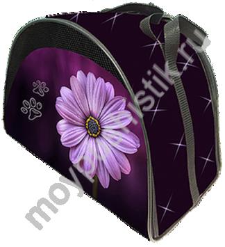 Сумка - переноска Дизайн - Цветок размер М