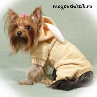 """Костюм """"Зайка"""" персиковый"""