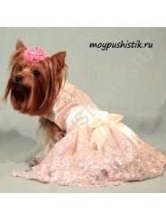 Платье 'Принцесса' розовое
