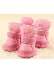 Ботиночки 'Угги' для собак розовые